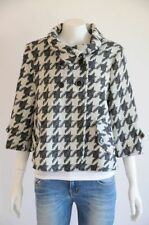 Houndstooth Wool Blend Coats & Jackets for Women