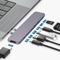 USB Type C Adapter for MacBook Pro 2018 2017 2016 Air 2018 A1932 Thunderbolt 3
