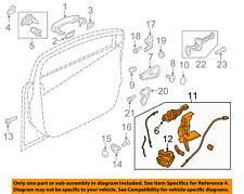 FORD OEM 12-16 Focus Front Door-Lock Actuator Motor F1EZ58219A64A