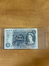 Bank of England, 5 Pound Banknote, Circulated