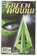 """Green Arrow #1, #2 - """"Quiver, Kevin Smith"""" - 2001 (Grade 9.2) WH"""