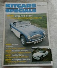 KITCARS & SPECIALS MAGAZINE AUG 1986 HUSTLER DUTTON MANTIS MIRAGE