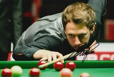 Judd Trump Hand Signed 12x8 Photo - Snooker Autograph.