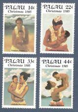 Palau 90-93 Christmas Mothers & Children Set Of 4 Mint/nh