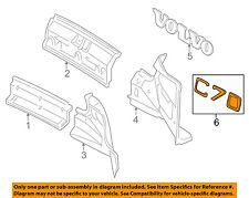 VOLVO OEM 98-04 C70 Exterior-Rear-Emblem Badge Nameplate 8614022