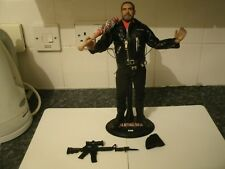 "ZC TOYS WALKING DEAD 12"" 1/6 SCALE NEGAN + CLOTHES DISPLAY STAND + ACCESSORIES"