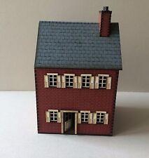 Nouveau 28 mm ACW Maison de brique une prépeint Kit.