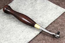 Vergez Blanchard Leather Stitching/Pricking Marker with Wheel #7 (3.85mm)