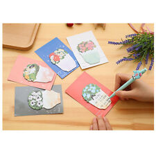 Flowers Potting Shape Stick Post Bookmark Mark Memo Sticky Notes Note Paper
