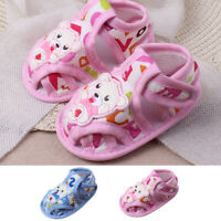 Newborn Baby Girls&Boys Sole Cartoon Anti-slip Casual Shoes Toddler Sandals