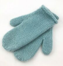 Gap Winter Women's Mittens Sz S/M Mohair Light Blue Soft Warm Lined Fall Winter