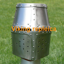 Historical Medieval Viking helmet   Free Stand And Liner