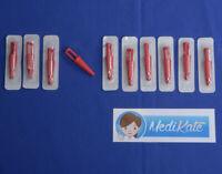 10 Katheterstopfen steril, Katheterverschluss, B Braun - PZN 03143898