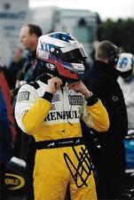 Heikki Kovalanien firmado F3 Fortec Motorsport Renault retrato de controlador 2002