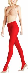 Falke Womens Pure Matte 50 Den Tights - Lipstick Red