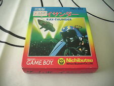 >> RAY THUNDER RAY-THUNDER SHOOT GAMEBOY GAME BOY JAPAN BRAND NEW OLD STOCK! <<