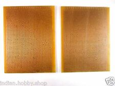 DIY Perforated single sided 3.5x5.5 Inch Prototype PCB Board (2 Piece)