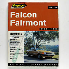Ford Falcon Fairmont 1979-82 Gregory's Service & Repair Manual #165