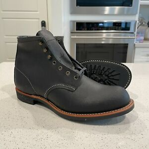 Red Wing Blacksmith 6-Inch Boot Rough & Tough Leather Charcoal 10