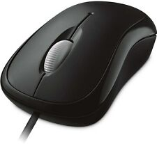 Microsoft Basic Optical Mouse Black[P58-00065]