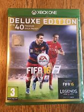 FIFA 16 Deluxe Edition - Xbox One UK Release Factory Sealed!