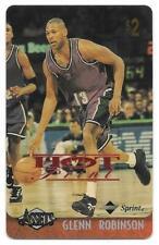1996 Assets Hot Prints Phone Cards $2 #22 Glenn Robinson