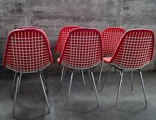 1v.4 DKX Wire Side Chair I Charles Eames 1952 I Herman Miller I Single Piece Pad