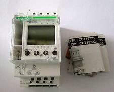 Schneider Digital Conmutador Reloj 24 horas 7 días cct15720 16a 1hp 1 Canal Merlin