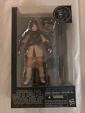 """Star Wars The Black Series 6"""" #16 Princess Leia In Boushh Action Figure Rare"""