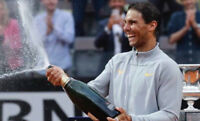NikeCourt Rafa Nadal Men's Tennis Full Zip Jacket French Open Monte Carlo