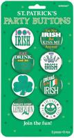 NEW St. Patrick's Day   Party St. Patrick's Party Badges/Button 3.8cm /8