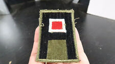 WWII US Army 1st Army Red White Engineer Patch