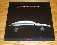 Original 1988 Toyota Celica Deluxe Sales Brochure 88