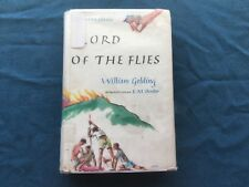 Lord of the Flies by William Golding, intro by E. M. Forster - 1962 2nd Ed 15 pr