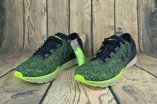 NEW Under Armour Charged Bandit 3 Men Running Shoe Navy/Lime 1295725-752 SZ 12
