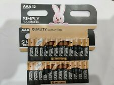 24 Duracell AAA Power Alkaline Batteries Economy Pack LR6 MN2400 Battery Long Ex