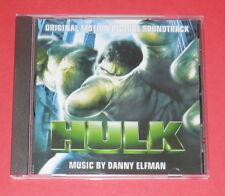 Hulk - Music by Danny Elfman -- CD / Soundtrack