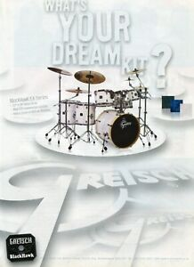 2005 Print Ad of Gretsch Blackhawk EX Series Drum Kit