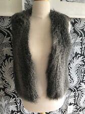 Club Monaco Faux Fur Vest Size Medium