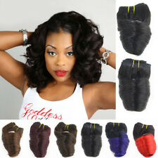 Natural Ombre Full Head Thick Loose Wave Hair Human Hair Extensions Weave Weft