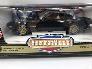 1/18 Ertl 1973 Pontiac Trans AM Custom Edition Smokey Bandit JM Part # 07088