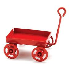 Timeless Minis™ - Toy Wagon - Red - 1.1875 x .6875 inches