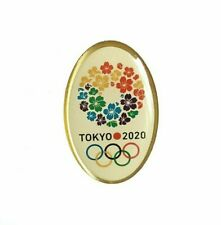 Tokyo Olympic Games 2020 Badge Pin Cherry Blossom Sport Emblem Collectibles