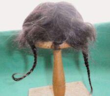 "doll wig mohair dark red 6.5"" to 7""/braids"