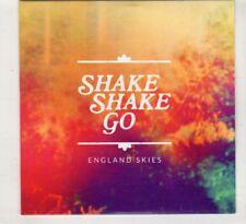 (HT337) Shake Shake Go, England Skies - 2015 DJ CD