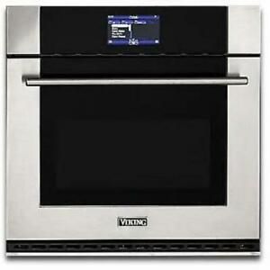 """Viking 30"""" Single Stainless Steel Electric Thermal-Convection Oven MVSOE630SS"""