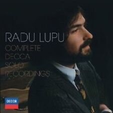 RADU/LSO/FOSTER,L. LUPU - THE COMPLETE DECCA SOLO RECORDINGS 10 CD NEW+