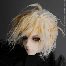 """Dollmore 1/3 BJD Dollfie SD wig (8-9)""""  Two Tone Style Wig (Blond)"""