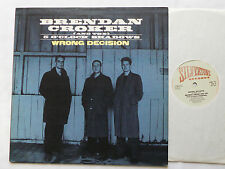 "Brendan CROKER & 5 O'CLOCK SHADOWS Wrong decision UK 12"" EP SILVERTONE(1989)"