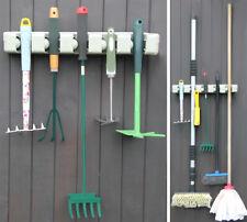 Werkzeughalter Werkzeugleiste Gerätehalter Besenhalter Wandhalterung Haken 2379